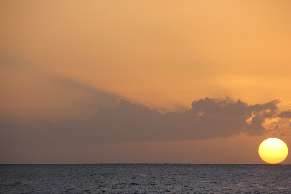 Keila Deshaies Guadeloupe, soleil couchant aux premières loges