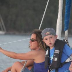 Keila Deshaies Guadeloupe, un voilier de 7 à 77 ans
