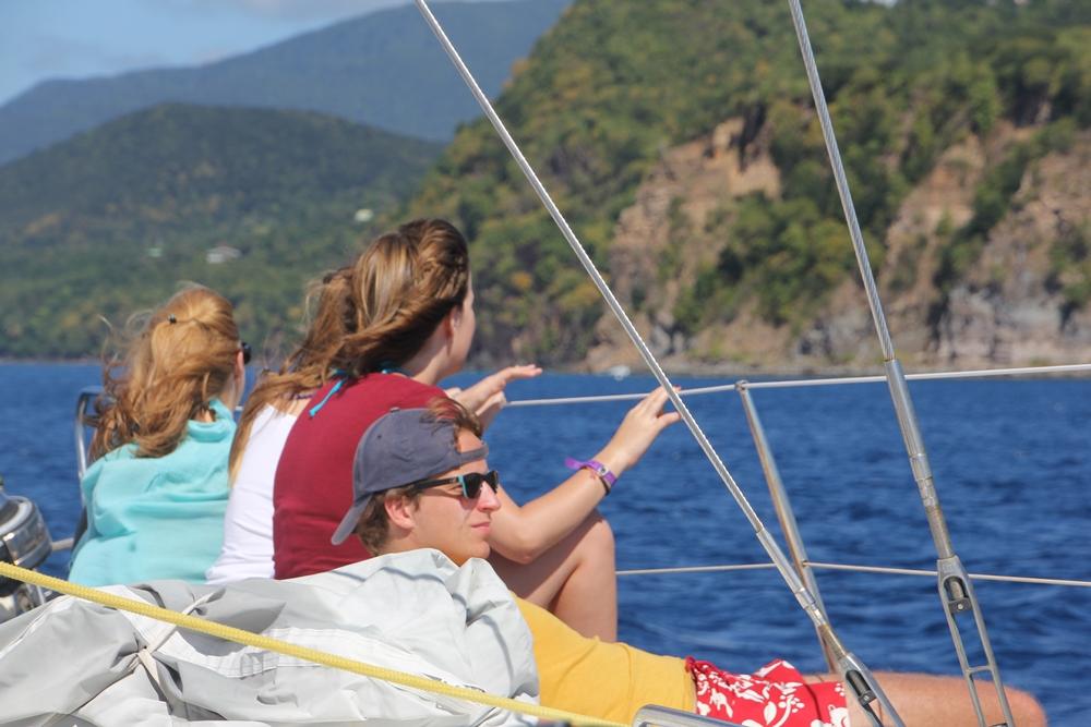 Keila Deshaies Guadeloupe : un voilier pour découvrir