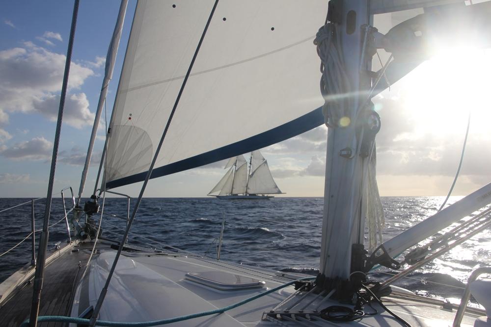 Keila Deshaies Guadeloupe, l'expérience Grand voilier