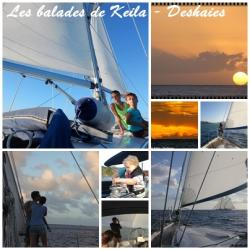 Keila Deshaies Guadeloupe, un grand voilier