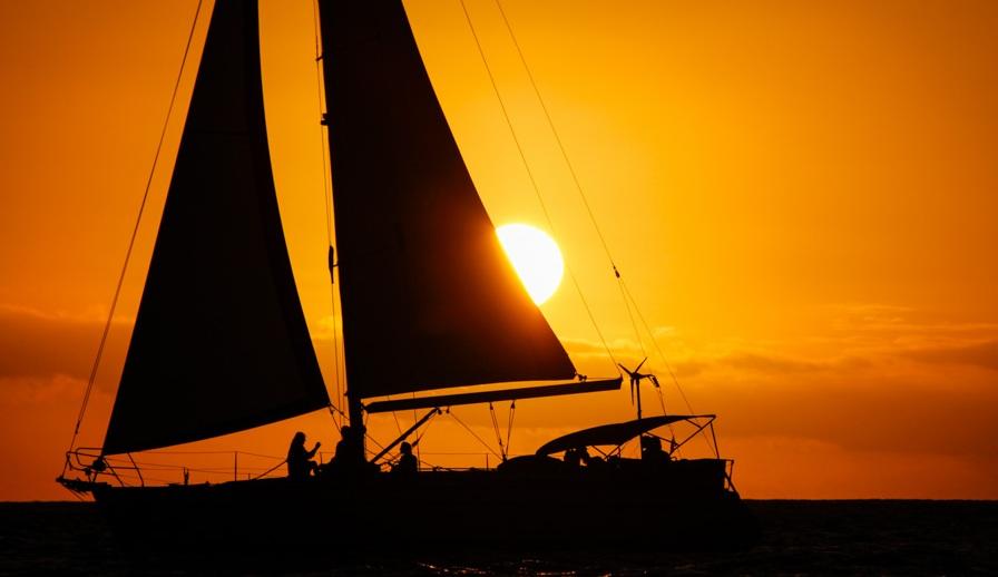 Sunset Balade voilier Deshaies