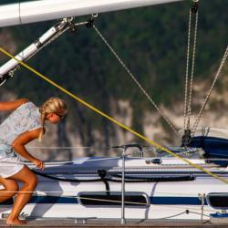 Keila Deshaies Guadeloupe un voilier pour  Apprendre en découvrant