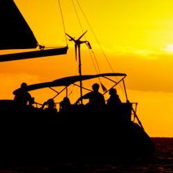 Keila Deshaies Guadeloupe un voilier et une baie magique