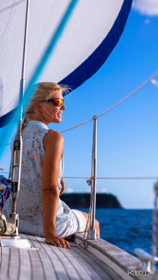 Keila Deshaies un voilier pour apprendre et contempler