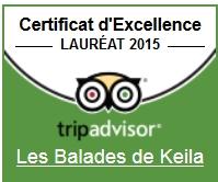 Trip advisor certificat keila